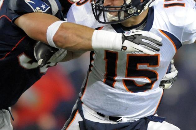 Tim Tebow: Denver Broncos QB Played Through Injury in Patriots Blowout