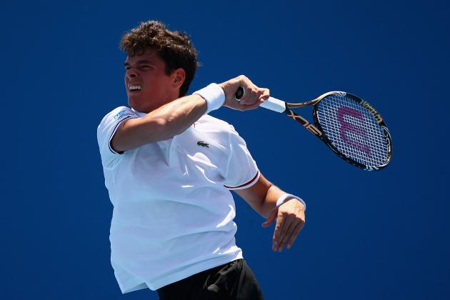 Milos Raonic into Third Round at Australian Open 2012, Philipp Petzschner out