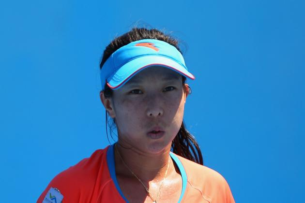 Jie Zheng Dangerous at 2012 Australian Open: Roberta Vinci out