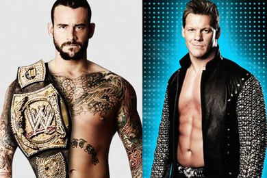 WWE Royal Rumble 2012: The Voices, CM Punk and Chris Jericho