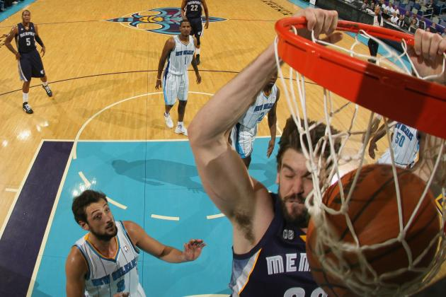 Grizzlies vs. Hornets: Marc Gasol, Memphis Grizzlies Start Road Stretch Right