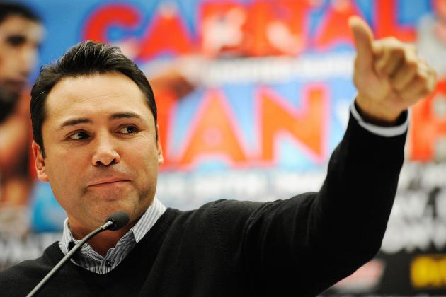 Oscar De La Hoya Is on the Tweet Train in Hopes of Helping the Big Fight Happen