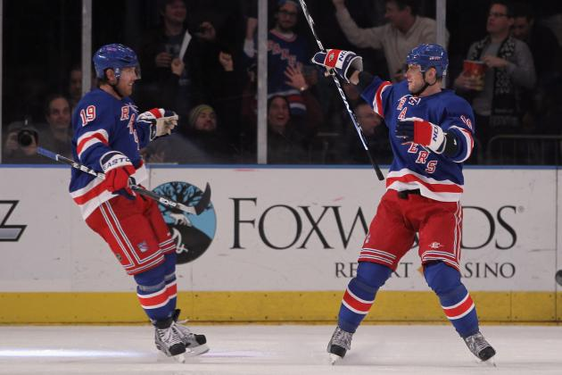 New York Rangers: Brad Richards Playing Tentative