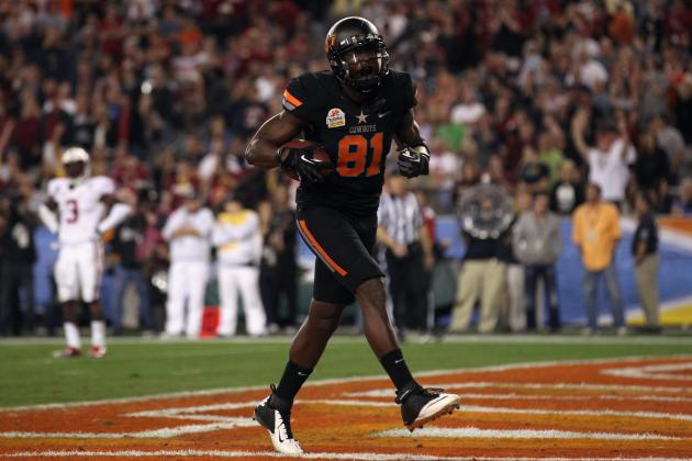 2012 NFL Mock Draft: Landing Places for Justin Blackmon and 5 First-Round WRs