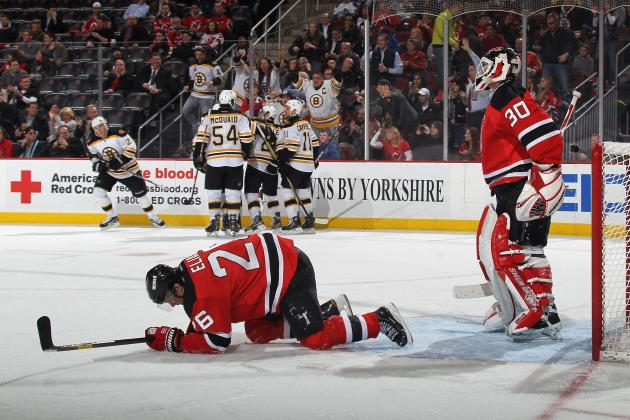 NHL: New Jersey Devils Done in by the Details in 4-1 Loss to Boston Bruins