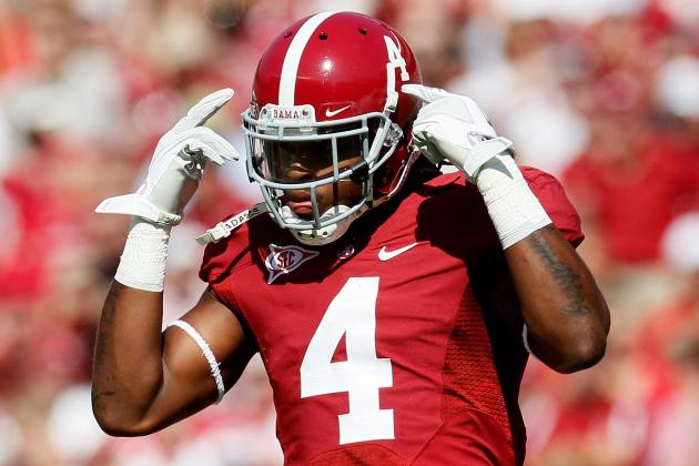 2012 NFL Draft: Why the Cincinnati Bengals Can't Pass on Alabama's Mark Barron