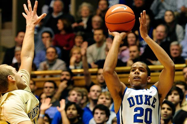 Duke vs. Wake Forest: Andre Dawkins Makes It Rain in Win