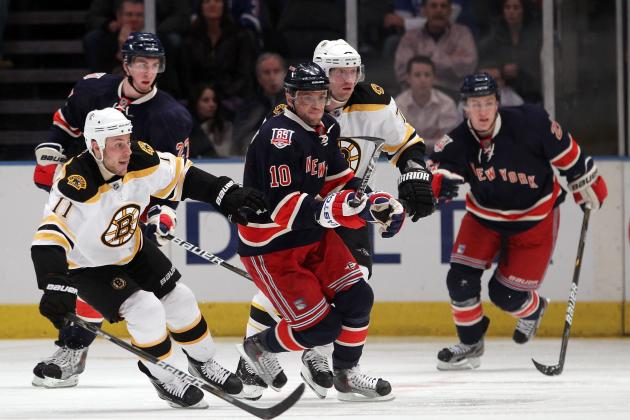 NHL Eastern Conference: Why This Weekend's Rangers-Bruins Game Is Crucial