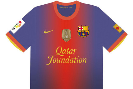 FC Barcelona: View the New Barcelona Kit for 2012-13