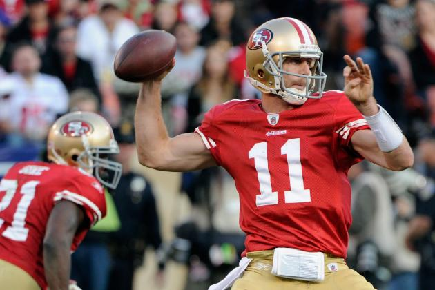 NFL Playoffs 2012: Is Alex Smith Ready to Take His Spot in 49ers History?