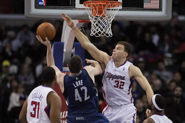 Blake Griffin and Kevin Love Square off to Settle 'Best Young PF' Debate