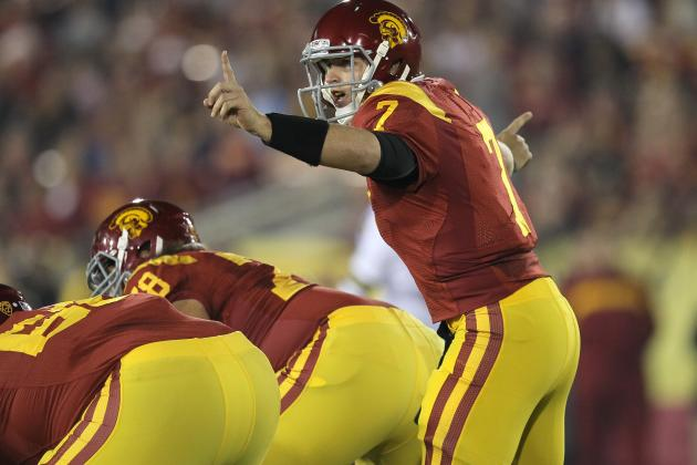 Matt Barkley and USC Trojans  vs. LSU Tiger Defense in 2012 BCS
