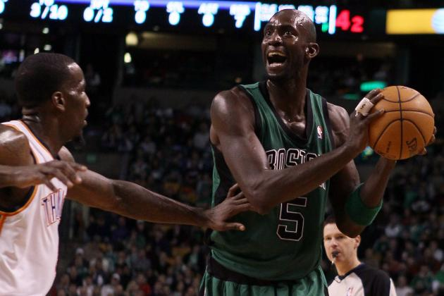 Kevin Garnett May Be First of Celtics' Big 3 to Go in Rebuilding Process