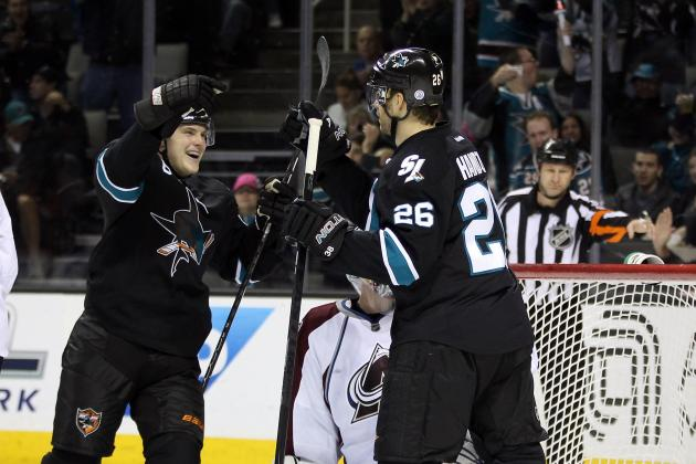 NHL 2011-12: San Jose Sharks' Forward Depth Is Better Than Ever