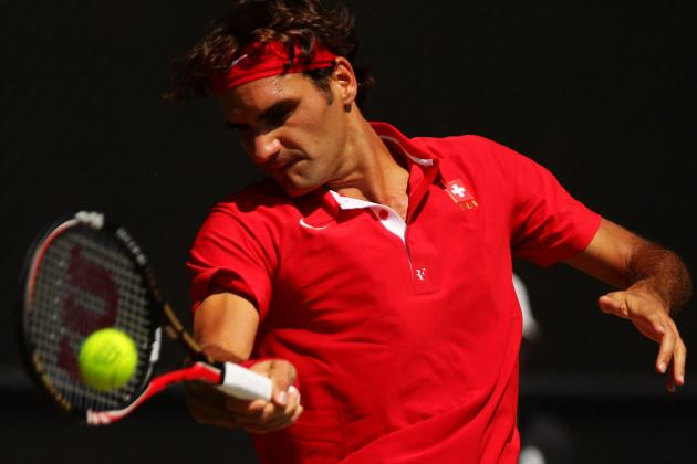 Australian Open 2012: Roger Federer Clashes with Up-and-Comer Bernard Tomic