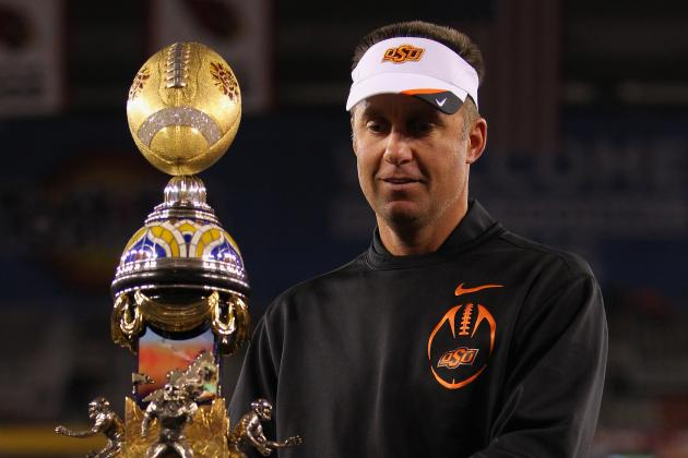 Mike Gundy Wins Coach of the Year Trophy, Does He Deserve It over Nick Saban?