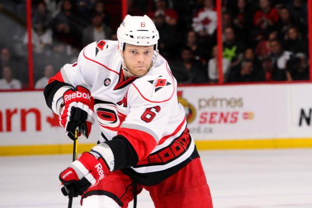 NHL Trade Rumors: Likely Landing Spots for Hurricanes' Defenseman Tim Gleason