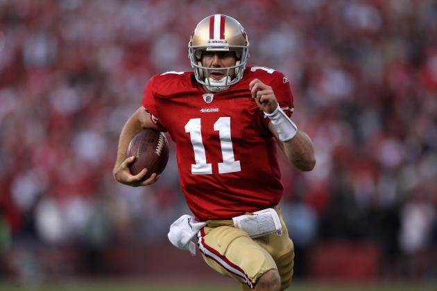NFL Playoffs 2012: Why Alex Smith Will Take Step Closer to Aaron Rodgers' Level