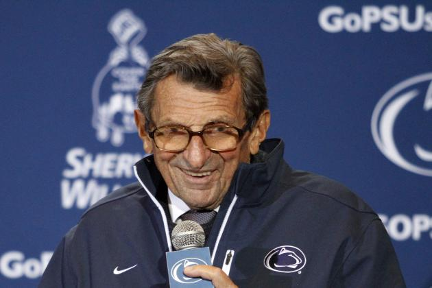 Former Penn State Head Coach Joe Paterno Near Death, According to Reports