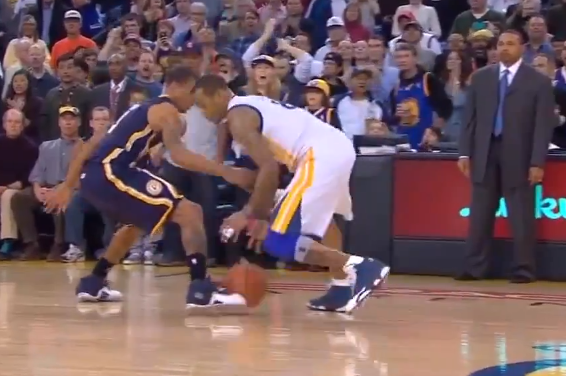 Pacers vs. Warriors: As George Hill Kicked the Ball, Did Referees Kick the Call?