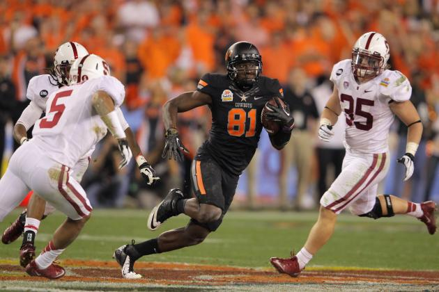 2012 NFL Draft:  Justin Blackmon Would Look Good in a Bears Uniform