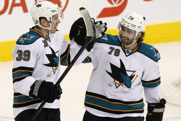 San Jose Sharks Remain Overmatched by Vancouver Canucks