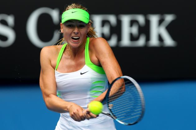 Australian Open 2012 TV Schedule: Top Women's Matches to Watch on Day 8