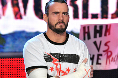 WWE Royal Rumble 2012: CM Punk, John Laurinaitis Discuss Raw Developments