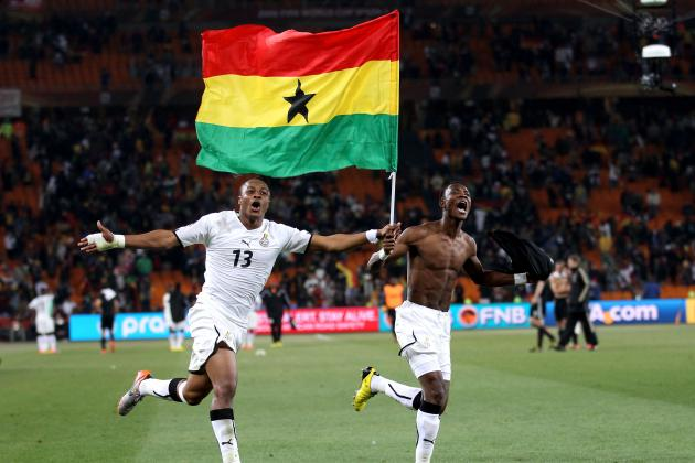 Africa Cup of Nations 2012:  Ghana Will Use World Cup Experience to Win Trophy