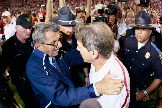 Joe Paterno Besides a Penn State Legend, He's a Great SEC Opponent to Remember