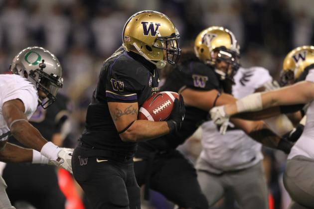 NFL Draft 2012: Washington RB Chris Polk Scouting Report