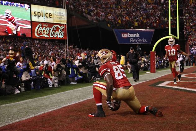 Giants vs 49ers: Why Vernon Davis Is the Best Big-Play Tight End of the Playoffs