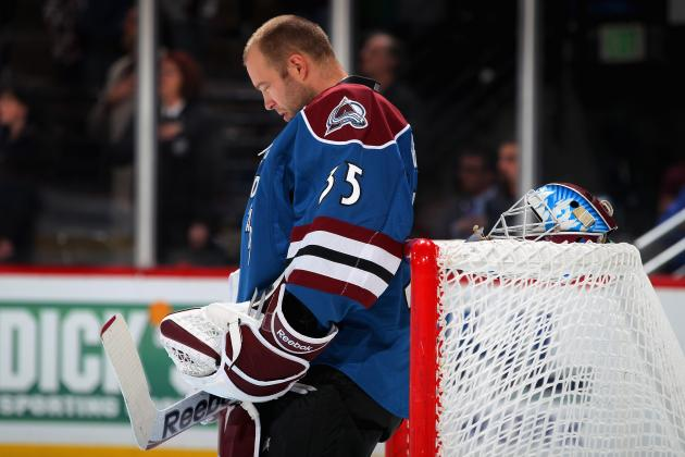 Colorado Avalanche: Jean-Sebastien Giguere Taking Control in Avalanche Crease