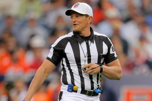 NFL Referee Ed Hochuli Most-Trending Twitter Topic of Giants-49ers Game