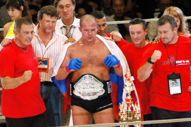 Why Bringing Fedor Emelianenko Back to Strikeforce Is a Brilliant Idea