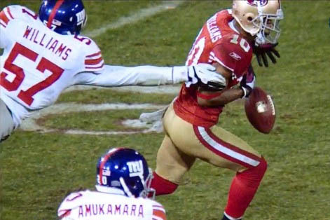 2012 NFC Championship: San Francisco 49ers' Kyle Williams Doesn't Deserve This
