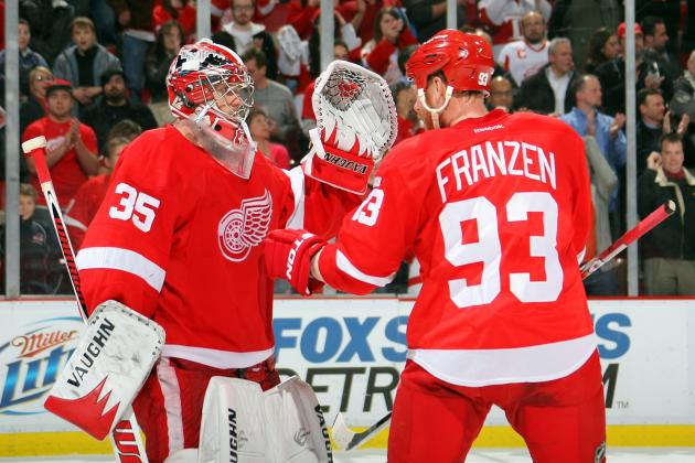 Detroit Red Wings Expand League Lead with 3-1 Win over St. Louis Blues