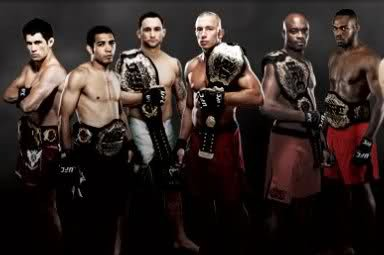 Which UFC Champion Will Be the First to Lose His Title?