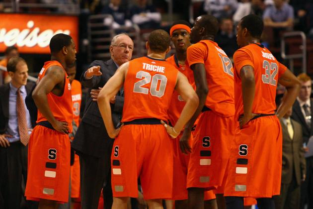 Syracuse Basketball: Jim Boeheim Going Forward with C.J. Fair and Kris Joseph