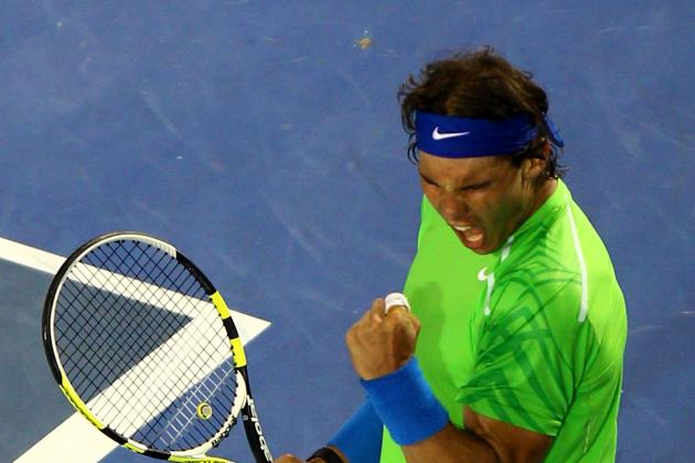 Australian Open 2012: Roger Federer Favored to Beat Rafael Nadal