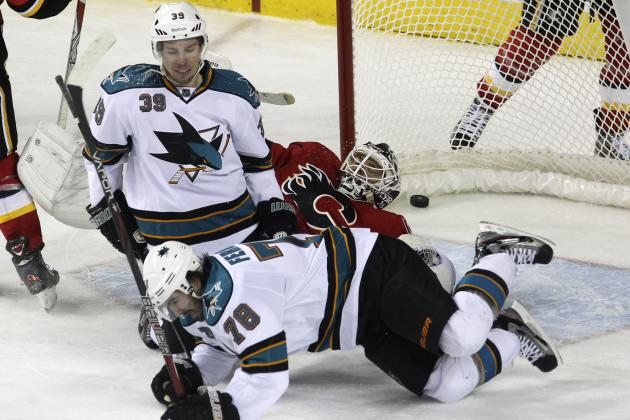 San Jose Sharks Struggle to Score but Earn Three Points in Alberta