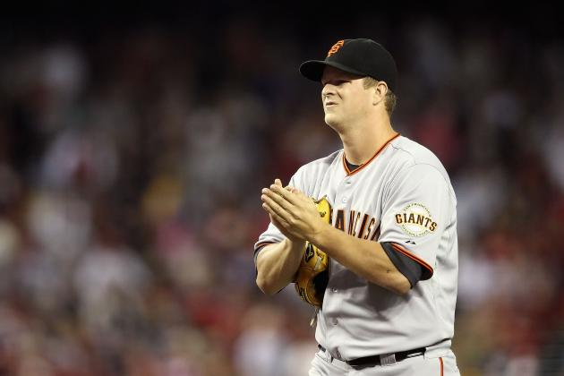 San Francisco Giants: Matt Cain Looking for Jered Weaver-Type Contract