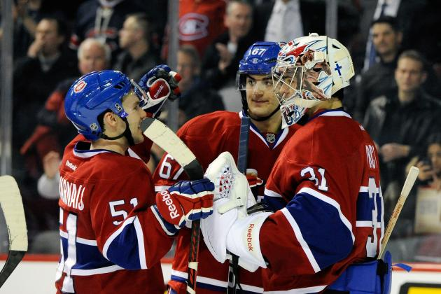 Detroit vs. Montreal: 7-2 Loss to Canadiens Ends Red Wings' 7-Game Win Streak