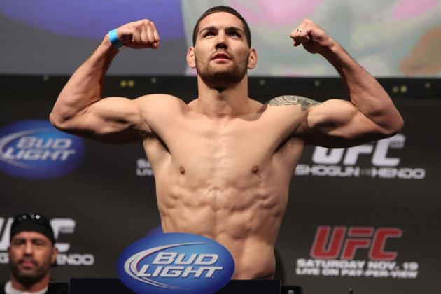 UFC on Fox 2: Chris Weidman Talks Demian Maia, Olympics and More