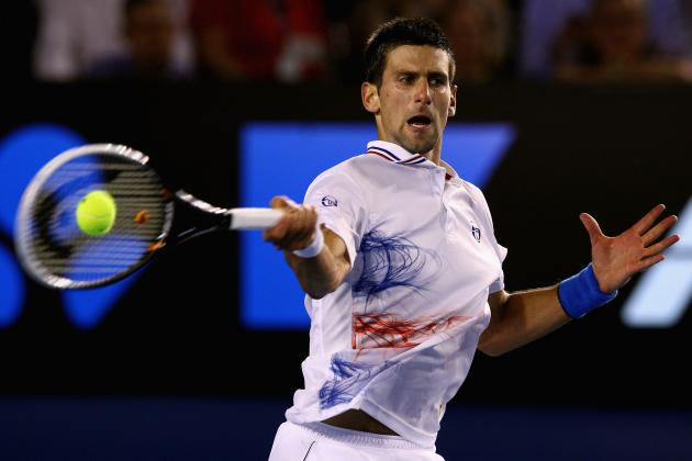 Novak Djokovic, Roger Federer, and All Make Semis: Men's Tennis Lacks Parity