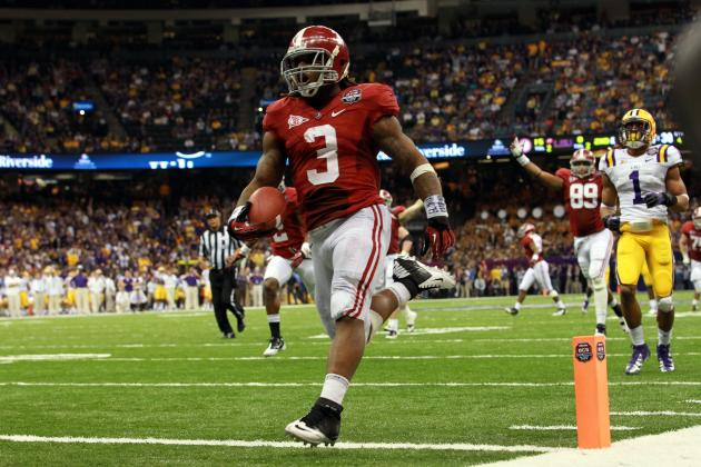 2012 NFL Draft: Trent Richardson Still the Best Option for the Cleveland Browns