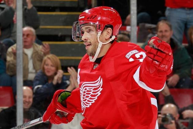MVP Review: Detroit Red Wings' Pavel Datsyuk Is the Clear-Cut Front-Runner