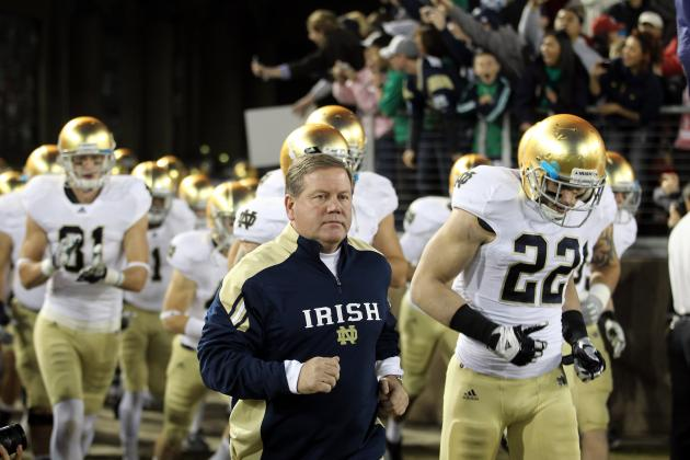 Notre Dame Football: Close Losses Won't Cut It for Brian Kelly