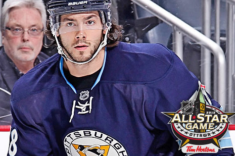 2012 NHL All-Star Kris Letang Is Enjoying the Change of Plans