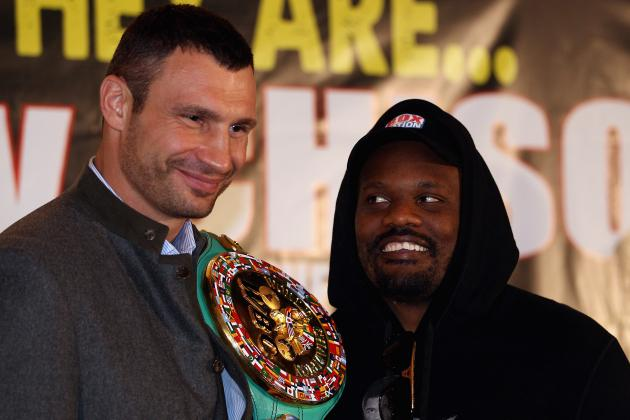 Dereck Chisora Thinks and Acts as All of Them Do Against Vitali Klitschko